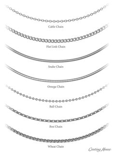 When designing jewelry it is helpful to understand the basics of jewelry design. View common pendant, ring, clasp and chain styles and contact our team!