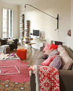 Baldosas hidráulicas por toda la casa | Etxekodeco