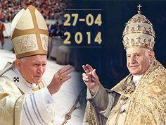 Señal en vivo desde Roma por la Canonización de Juan Pablo II y Juan XXIII --> http://www.es.catholic.net/canonizacion/