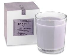 Our candles now feature a larger size and extended burn time, so you can enjoy their light, natural scent even longer. French Lavender fills a space with the rejuvenating fragrance of lavender from Provence, blended with essences of geranium and c… Essential Oil Box, Essential Oil Candles, Candle Box, Candle Jars, Williams Sonoma, Stocking Stuffers For Women, French Lavender, Lavender Scent, Hostess Gifts