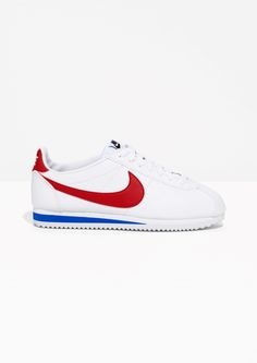 Other Stories image 1 of Nike Classic leather Cortez in White