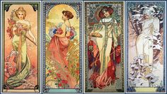 ... MUCHA captures the mood of the four seasons – innocent spring, sultry summer, fruitful autumn and frosty winter.