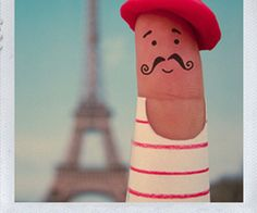 I'm french people! Too sweet!