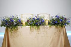 Table Flowers, Display, Weddings, Deco, Nature, Plants, Blue, Color, Instagram