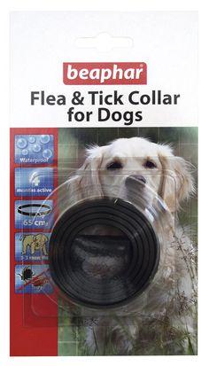 Beaphar - Collar antipulgas para perros (impermeable, reflectante)