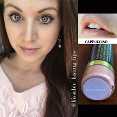 Cappuccino LipSense  Glossy Gloss https://m.facebook.com/kissablelastinglips/ Instagram @kissable_lasting_lips All day Smudge-Proof Lipcolor!  Message me to order