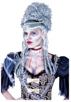 Zombie Marie Antoinette Wig