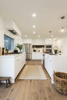 A Renovation Company, Eden House Co. Farmhouse Flooring, Farmhouse Kitchen Decor, Home Decor Kitchen, Kitchen Flooring, Kitchen Design, Luxury Vinyl Plank, Luxury Vinyl Flooring, Vinyl Plank Flooring, Home Remodeling