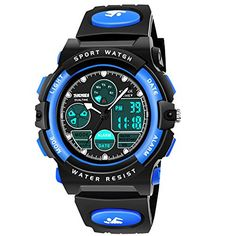 Discover ATOPDREAM Boys Girls Digital Watches Kids Toys Waterproof Watch for 3-12 Yr Old Teens Sports Outdoor Watches for Toddlers Best Gifts for Birthday Home Christmas Party. Explore our Boys Fashion section featuring new #shopping ideas of the best collection of #BoysFashion #BoysWatches and #fashion products online at #Jodyshop Marketplace.
