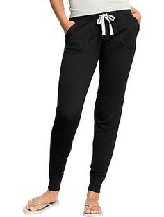 Old Navy - Terry-Fleece Skinny Sweatpants - I love these and wish I had them in more colors. They are so comfy I could live in them all the time. They need to do a thicker pair for winter.