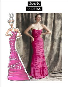 #theia #pink #gown