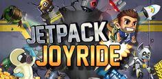 Dos mesmos criadores do famoso fruit ninja, Jetpack Joyride é um jogo de aventura e corrida que passa em um laboratório onde Barry tem um foguete nas costas e você controla ele desviando e coletando tudo que encontrar pela frente.