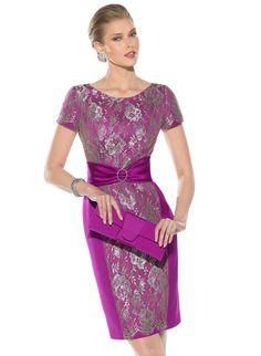 3482 (Vestido de Madrina). Diseñador: Teresa Ripoll. ...