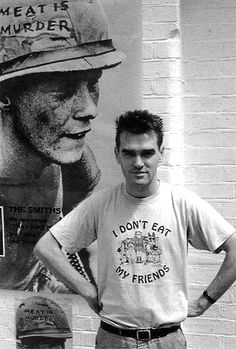 Morrissey (The Smiths). Meat is Murder