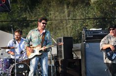 Tab Benoit At Rhythm & Roots in Charlestown, RI in September 2009. Doug Gay on drums and Corey Duplechin on bass.