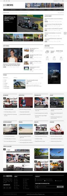 Zgrmag Is A Clean And Modern Design Responsive Wordpress Theme