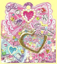 Q-Lia *Romantic Ribbon* Sticker Sack