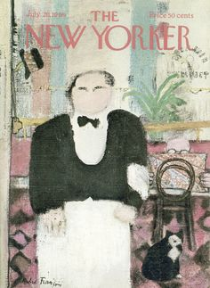André François : Cover art for The New Yorker 2319 - 26 July 1969