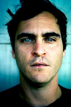 Joaquin Phoenix. There's a hardness that wasn't there when he was younger, before River died.