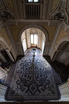 Abandoned - Sammezzano Castle, built in 1605. Photo credit: drhowser