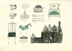 Sketch book work. - Katt Frank Illustration.