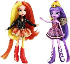 My Little Pony Equestria Girls Sunset Shimmer and Twilight Sparkle Figures Hasbro http://www.amazon.co.uk/dp/B00BD26ED6/ref=cm_sw_r_pi_dp_Kfgkub099HW48