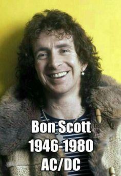 Bon Scott 1946-1980 ACDC