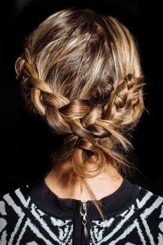 Awesome braided hairstyle for a bohemian wedding | Brides.com