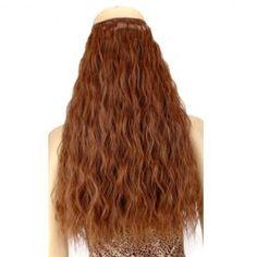 $6.12 Trendy Perm Long High Temperature Fiber Hair Extension For Women