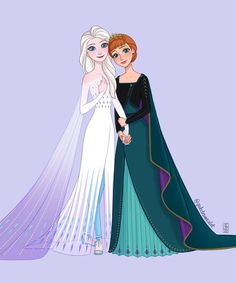Disney Princess Frozen, Anna Frozen, Blue Sparkly Dress, Frozen Pictures, Frozen Fan Art, Httyd 3, Long Braids, Lightning Mcqueen, Elsa Anna