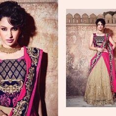 154 Lehenga, Sari, Collection, Fashion, Saree, Moda, Fashion Styles, Fashion Illustrations, Saris