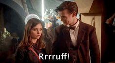 Doctor Who Animated GIF  : Rrrruff!