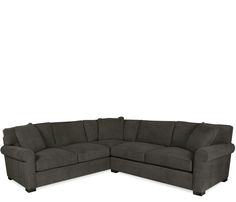 Deacon 2-pc Sectional - The Deacon comes standard with luxuriously deep seated premium feather and down cushions for the ultimate in seating comfort. Stocked in a durable and