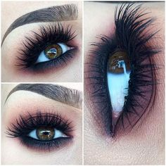 Long, Thick Eyelashes - makeup ideas for brown eyes Beauty & Personal Care : amz. - Long, Thick Eyelashes – makeup ideas for brown eyes Beauty & Personal Care : Fall Makeup, Love Makeup, Makeup Inspo, Makeup Inspiration, Makeup Ideas, Gorgeous Makeup, Simple Makeup, Makeup Tutorials, Makeup Tips