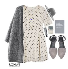"""""""#ROMWE"""" by credentovideos ❤ liked on Polyvore featuring Ugo Cacciatori, women's clothing, women, female, woman, misses and juniors"""