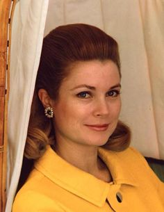 Really Great Photo --- It's like Princess Grace is talking to us, with her eyes.