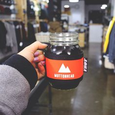 The new Mountain Mason Jar Cosies are in the shop. Available in Maroon, Navy, Black and Blaze Orange. Open today till 5pm *Also holds a tall can