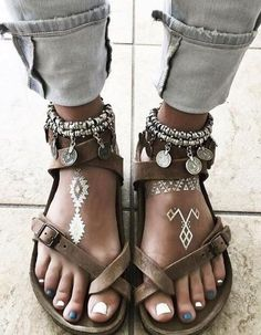 Boho Style Sandals Source