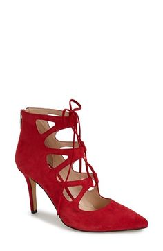 Vince Camuto 'Bodell' Lace Up Pump (Women) available at #Nordstrom