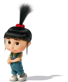 Despicable Me 2- Agnes is soooo adorable!