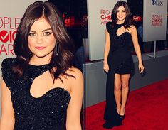 Lucy Hale. If I could dress like her all the time, I'd be okay with that.