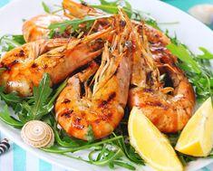 Γαρίδες ψητές από την Αργυρώ   Συνταγή   Argiro.gr Restaurant Brasserie, Seafood Restaurant, Dubai Deals, Seafood Buffet, Dubai Offers, Restaurants, Beverages, Drinks, Weekly Menu