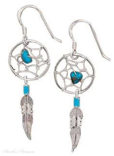 Google Image Result for http://auntiestreasures.com/images/Sterling-Silver-Small-Turquoise-Dream-Catcher-Earrings-ea-cib-cfaw.jpg