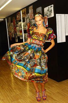 Dolce & Gabbana SS13 Backstage