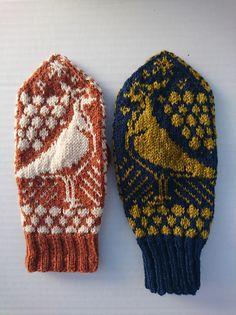 Dagens gratisoppskrift: Votten Jærbu | Strikkeoppskrift.com Mittens Pattern, Simile, Beret, Ravelry, Knitted Hats, Knitting, Spring, Scarves, Socks