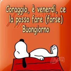 1000 images about snoopy and his friends on pinterest for Immagini divertenti buongiorno venerdi