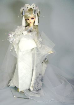 Asian Doll, Pretty Baby, Japanese Kimono, Cute Dolls, Ball Jointed Dolls, Reborn Babies, Beautiful Dolls, Washi, Baby Dolls