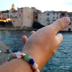 Welcome to Saint-Tropez! Our favorite #mensbracelet from our Spring/Summer Collection. You find all shades of Saint-Tropez in this #bracelet