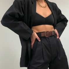 outfit with blazer Topshop Outfit, Look Fashion, Fashion Outfits, Womens Fashion, Fashion Tips, Fashion Trends, Blazer Fashion, Urban Fashion, Looks Style