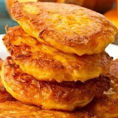 Tortitas de calabaza. Para una sana merienda de los niños